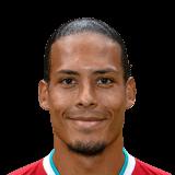 Virgil van Dijk FIFA 22
